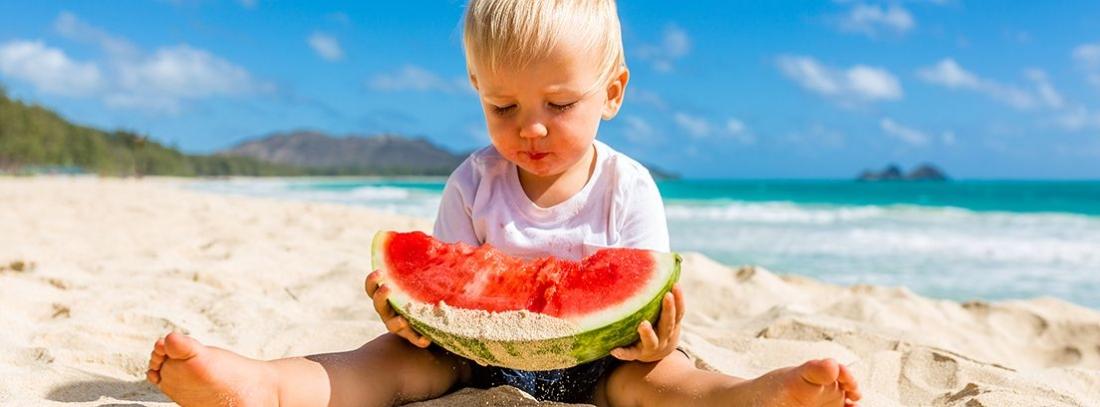 Claves para una buena alimentación infantil durante el verano